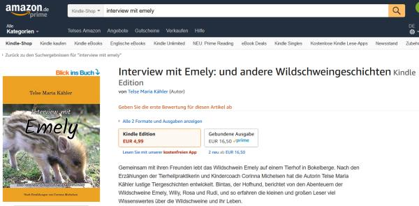 Interview mit Emely als E-Book