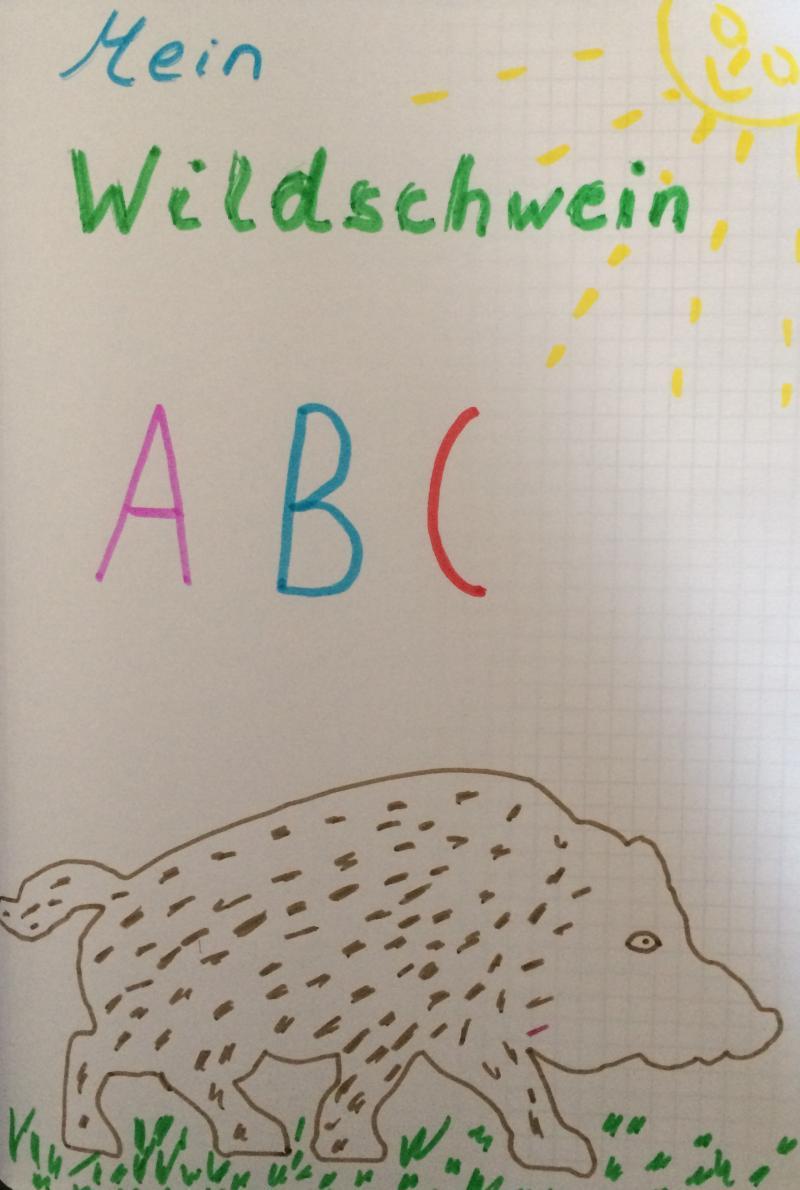 Wildschwein ABC