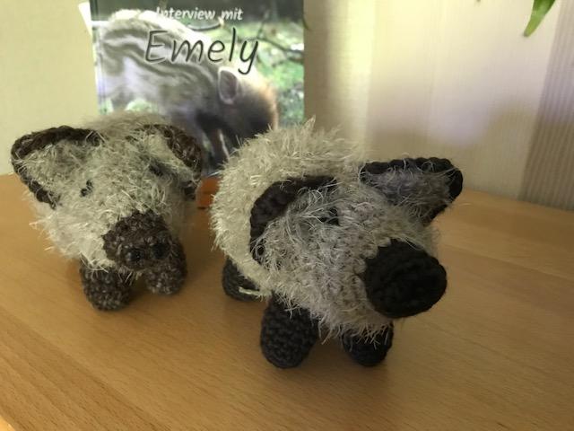 Wildschweine - Kleine Kuscheltiere